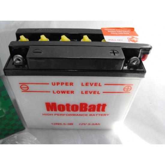 12N5.5-3B Motorakkumulátor