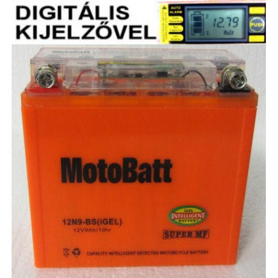 12N9-BS igel Motorakkumulátor