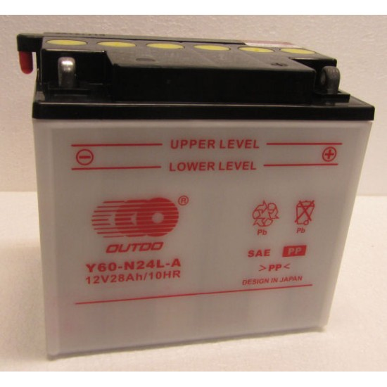 Y60-N24L-A  Motorakkumulátor