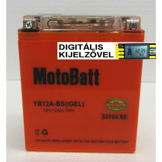 YB12A-BS igel  Motorakkumulátor