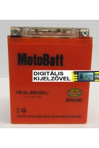 YB14L-BS igel  Motorakkumulátor