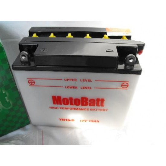 YB16-B  Motorakkumulátor
