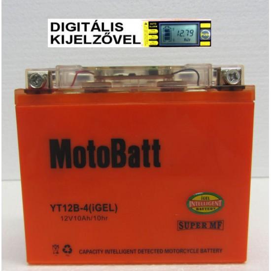 YT12B-4 igel  Motorakkumulátor