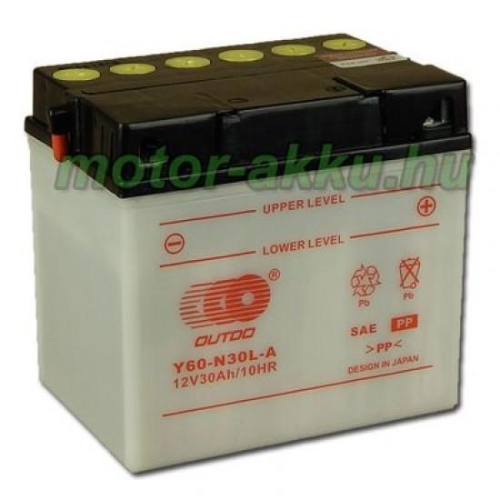 Y60-N30L-A  Motorakkumulátor