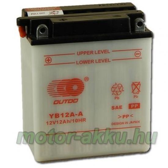 YB12A-A  Motorakkumulátor