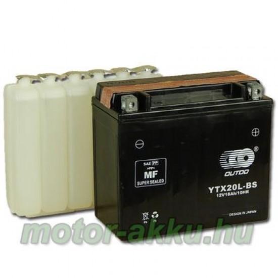 YTX20L-4  Motorakkumulátor